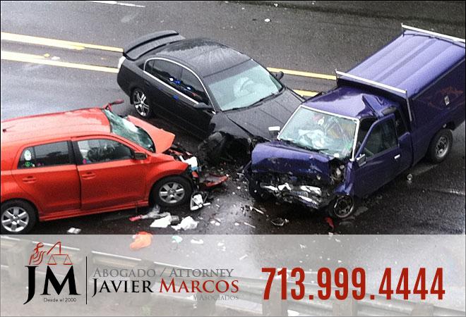 Car crash- Attorney Javier Marcos 713.999.4444