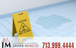 Slip and fall injury | Attorney Javier Marcos 713.999.4444