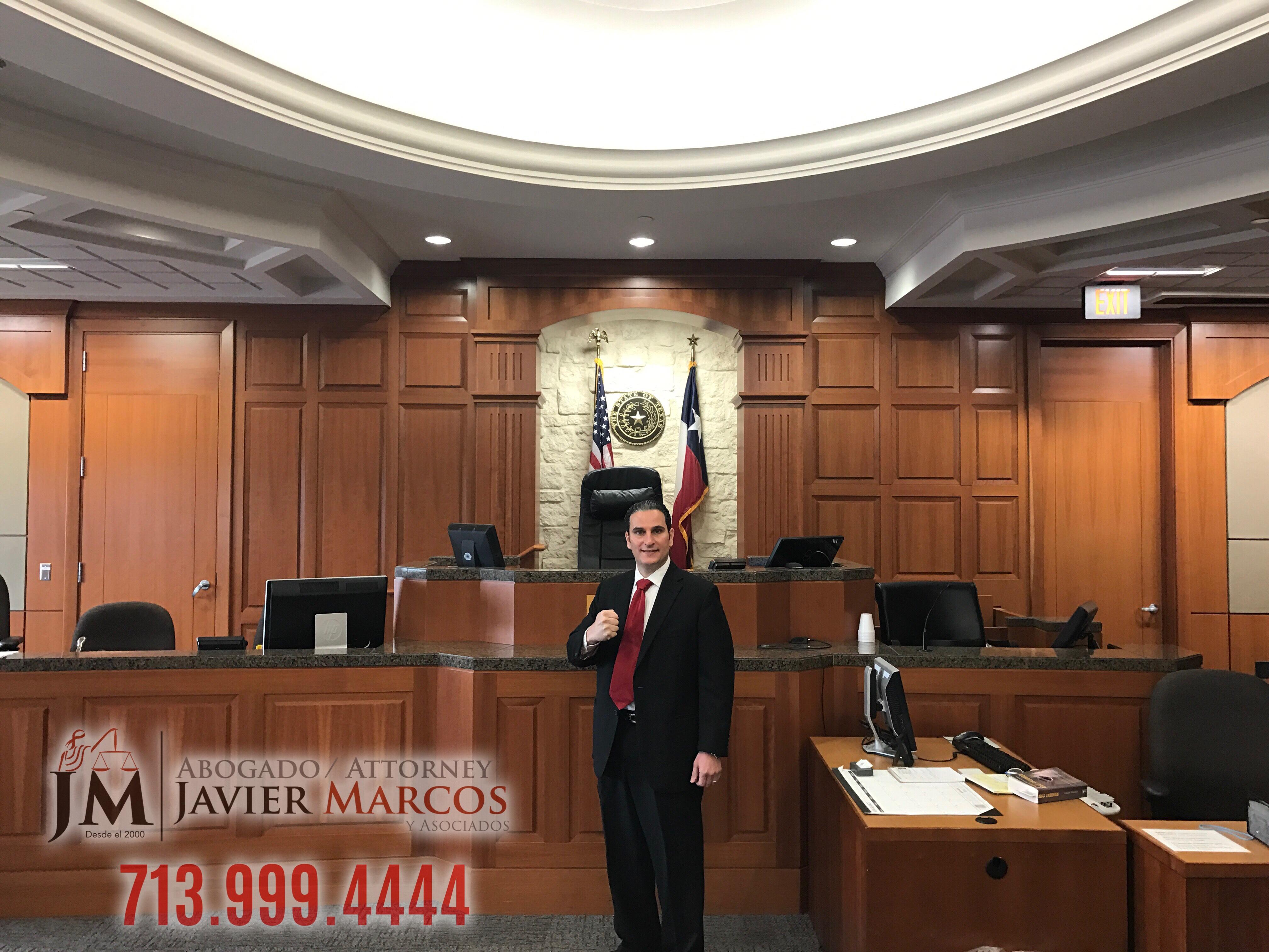 Spanish speaking attorney | Attorney Javier Marcos 713.999.4444