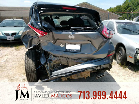 Car crash | Attorney Javier Marcos | 713.999.4444