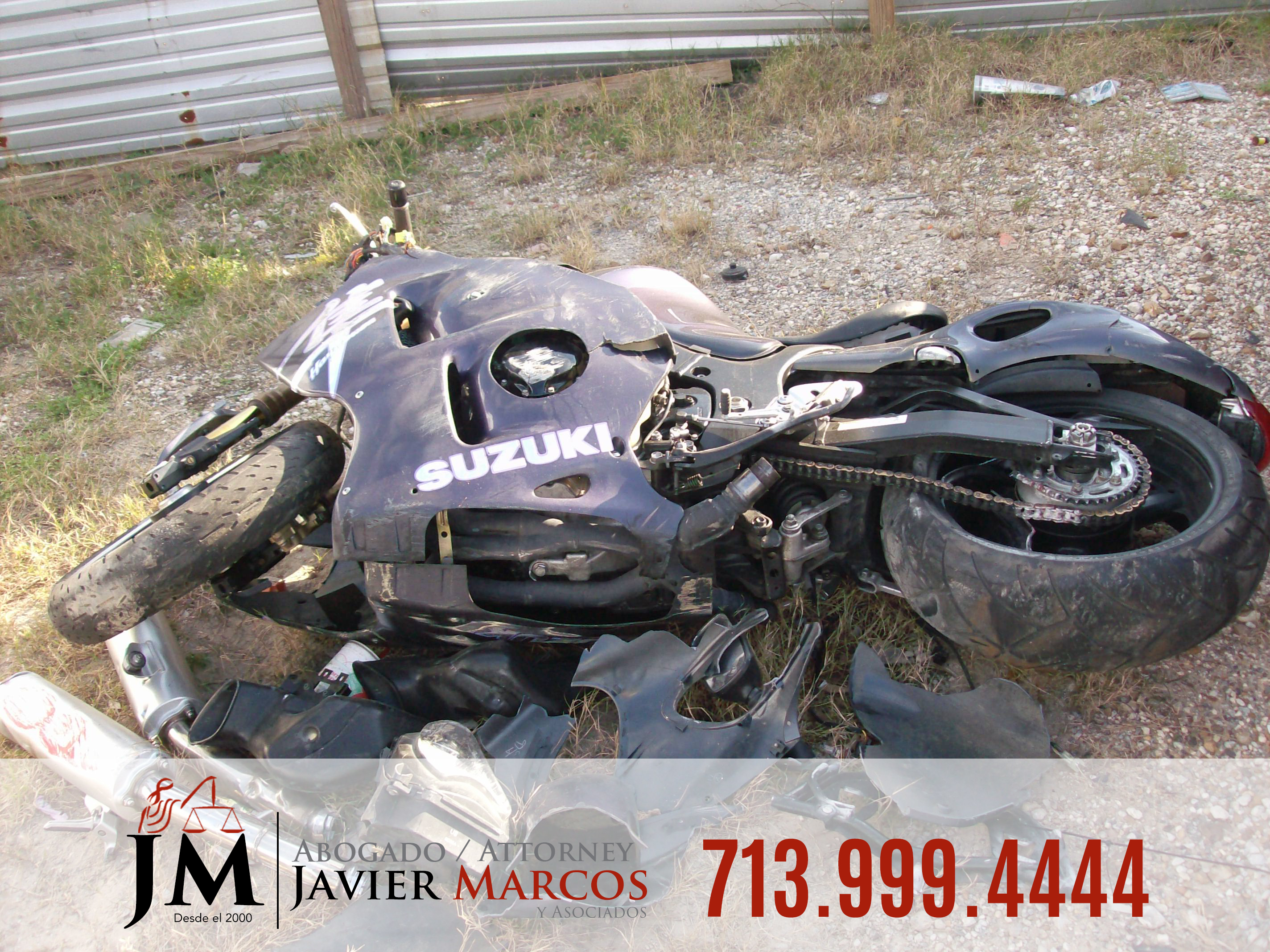 Motorcycle Accident Attorney   Attorney Javier Marcos   713.999.4444