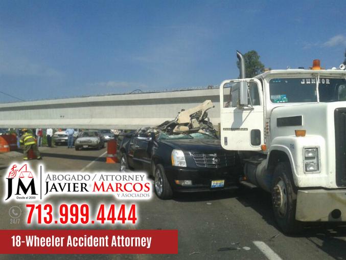 18 wheeler accident attorney   Attorney Javier Marcos   713.999.4444