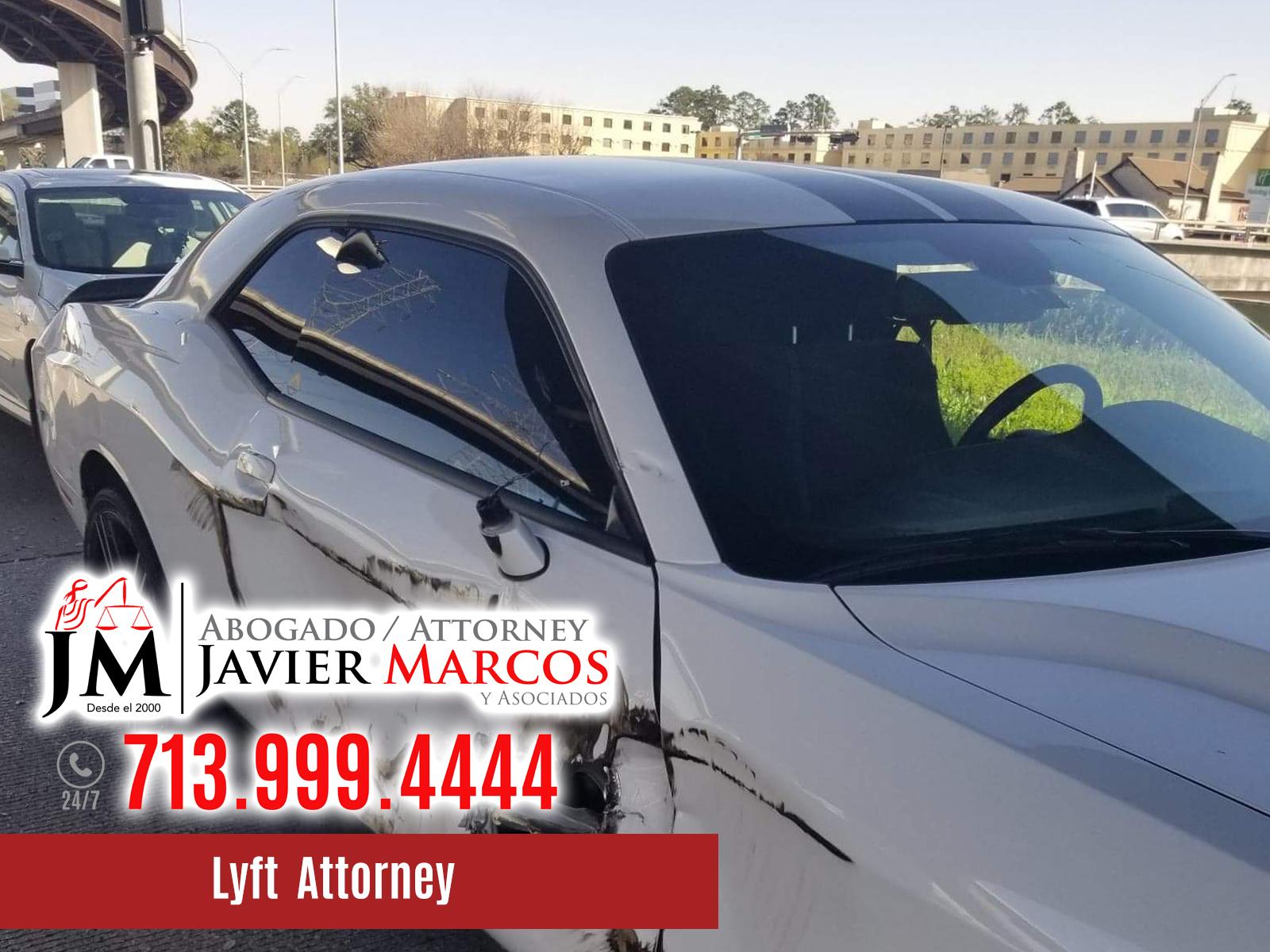 Lyft Attorney | Attorney Javier Marcos | 713.999.4444