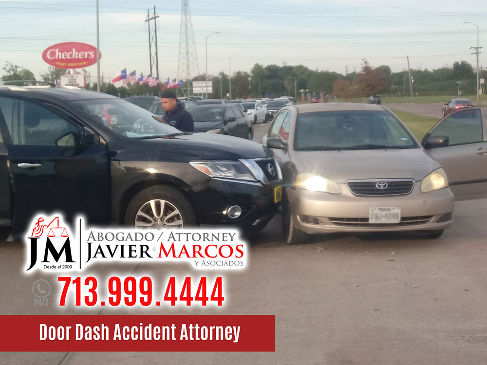Accident Attorney for Grub Hub | Attorney Javier Marcos | 713.999.4444