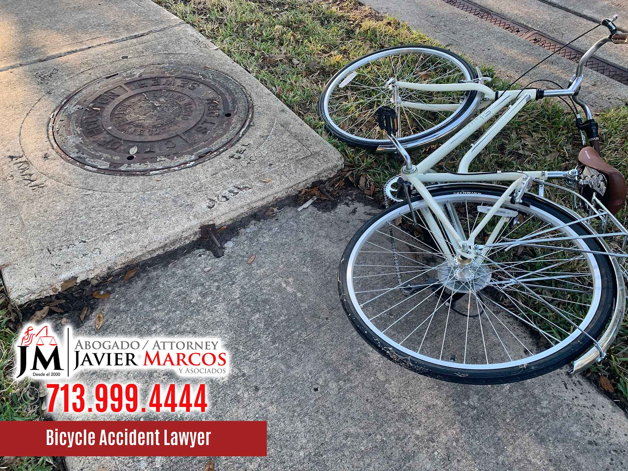Bicycle Accident Lawyer   Attorney Javier Marcos   713.999.4444