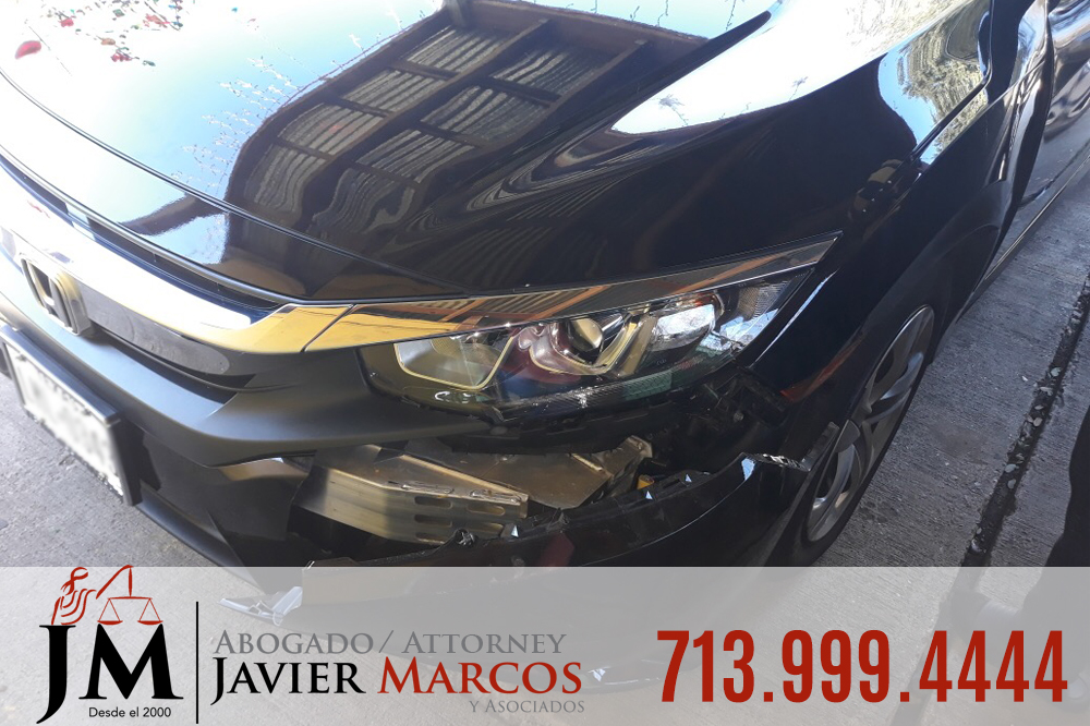 Car accidents in Houston | Attorney Javier Marcos | 713.999.4444