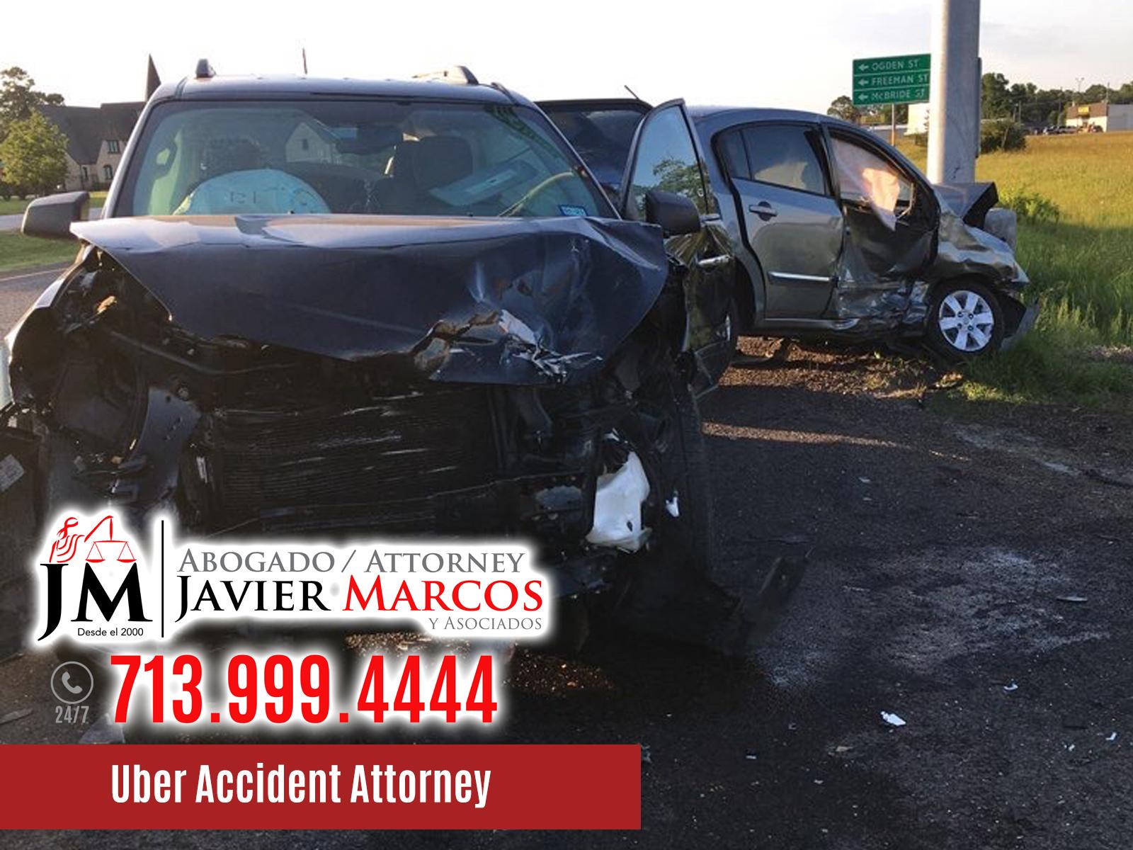 Uber Accident Attorney   Attorney Javier Marcos   713.999.4444