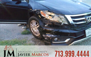 Car Accident in Texas | Attorney Javier Marcos | 713.999.4444