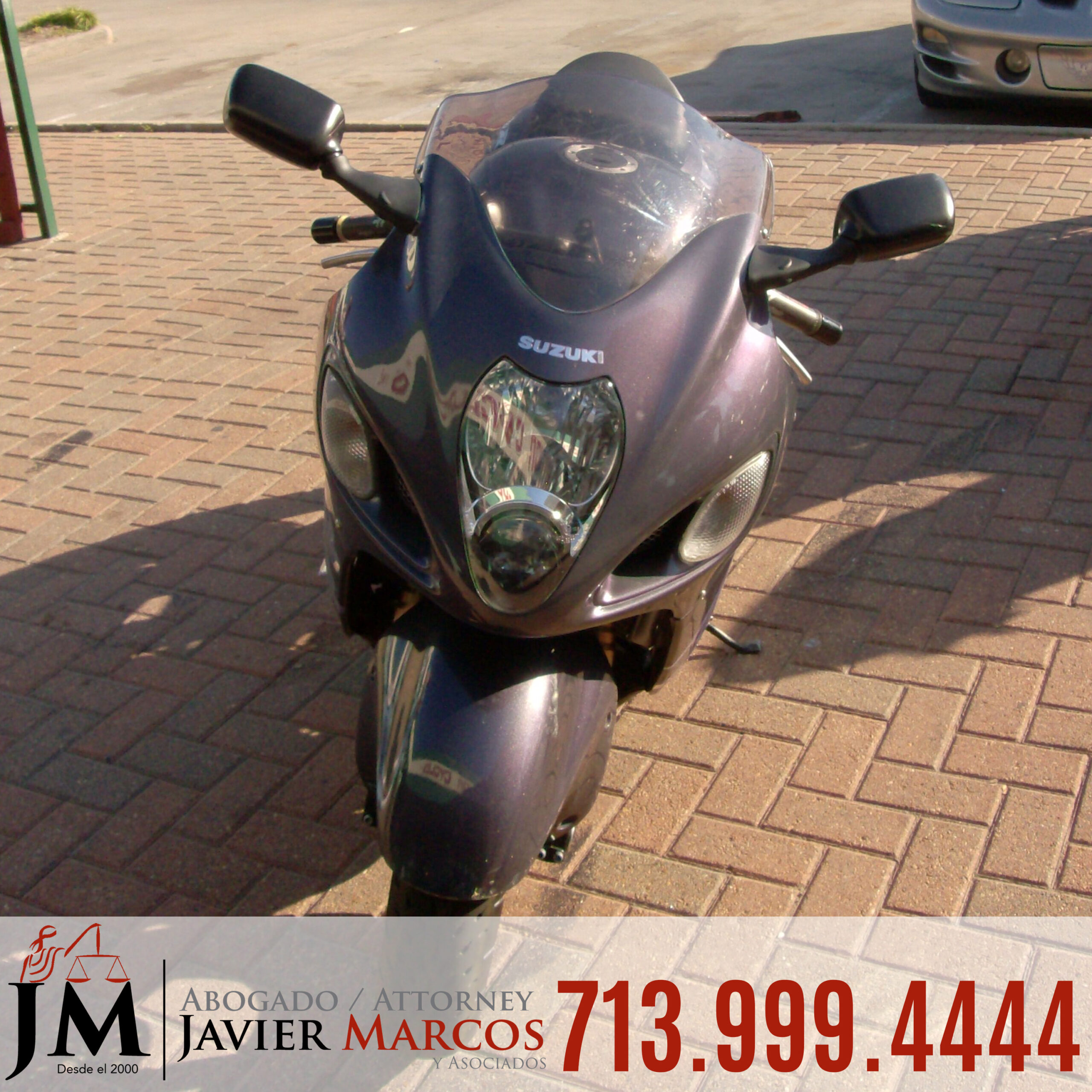 Motorcycle accident Lawyer | Attorney Javier Marcos | 713.999.4444