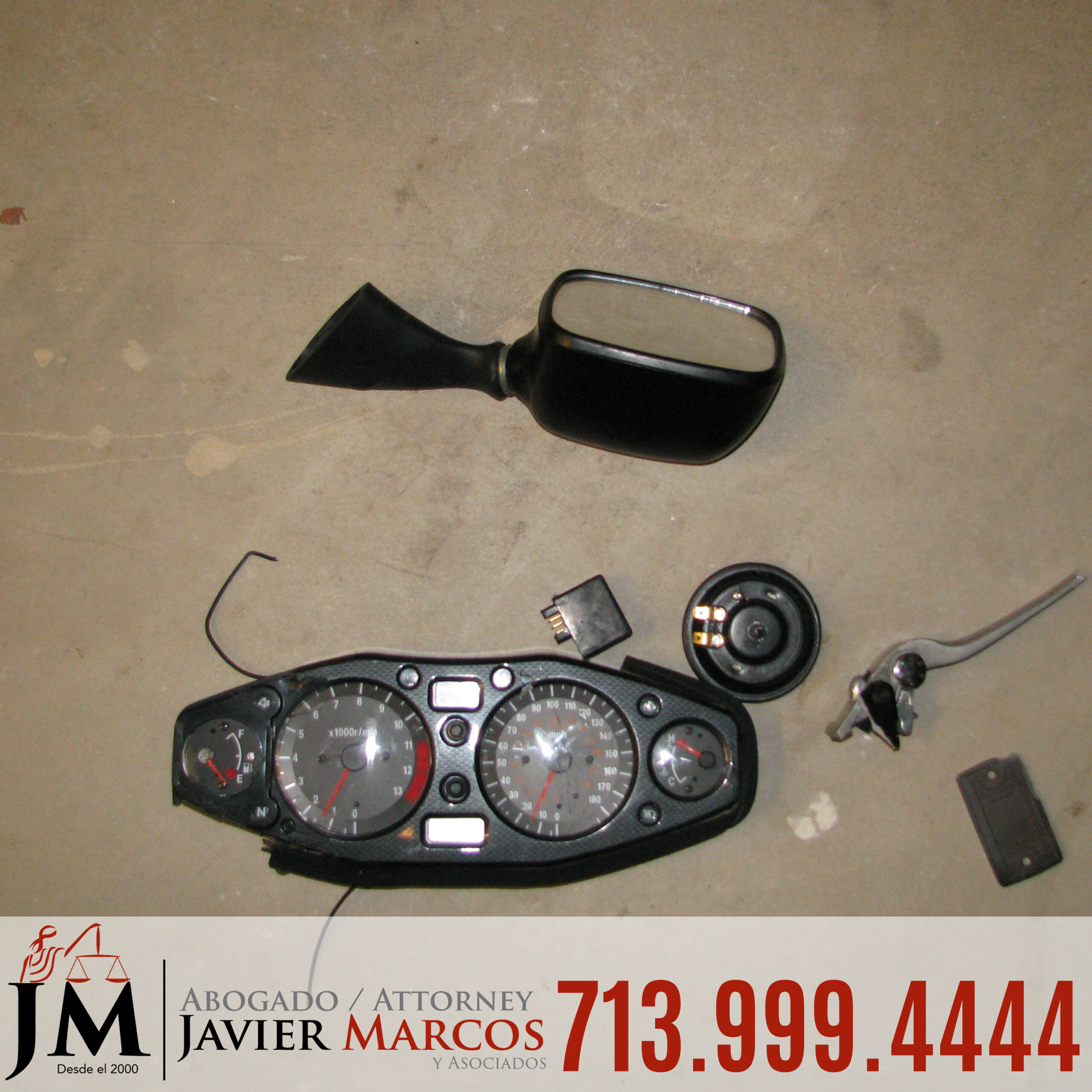 Riding a Motorcycle | Attorney Javier Marcos | 713.999.4444