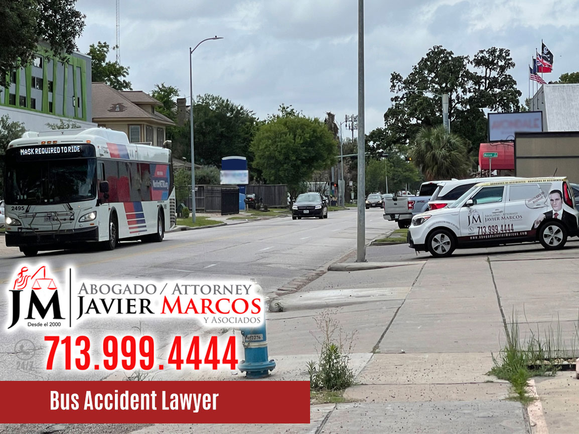 Bus Accidents | Attorney Javier Marcos | 713.999.4444