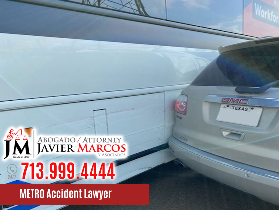 Metro Bus Accidents | Attorney Javier Marcos | 713.999.4444