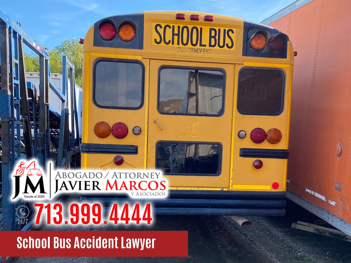 School Bus Accidents | Attorney Javier Marcos | 713.999.4444