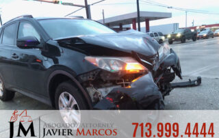 Food delivery accidents | Attorney Javier Marcos | 713.999.4444