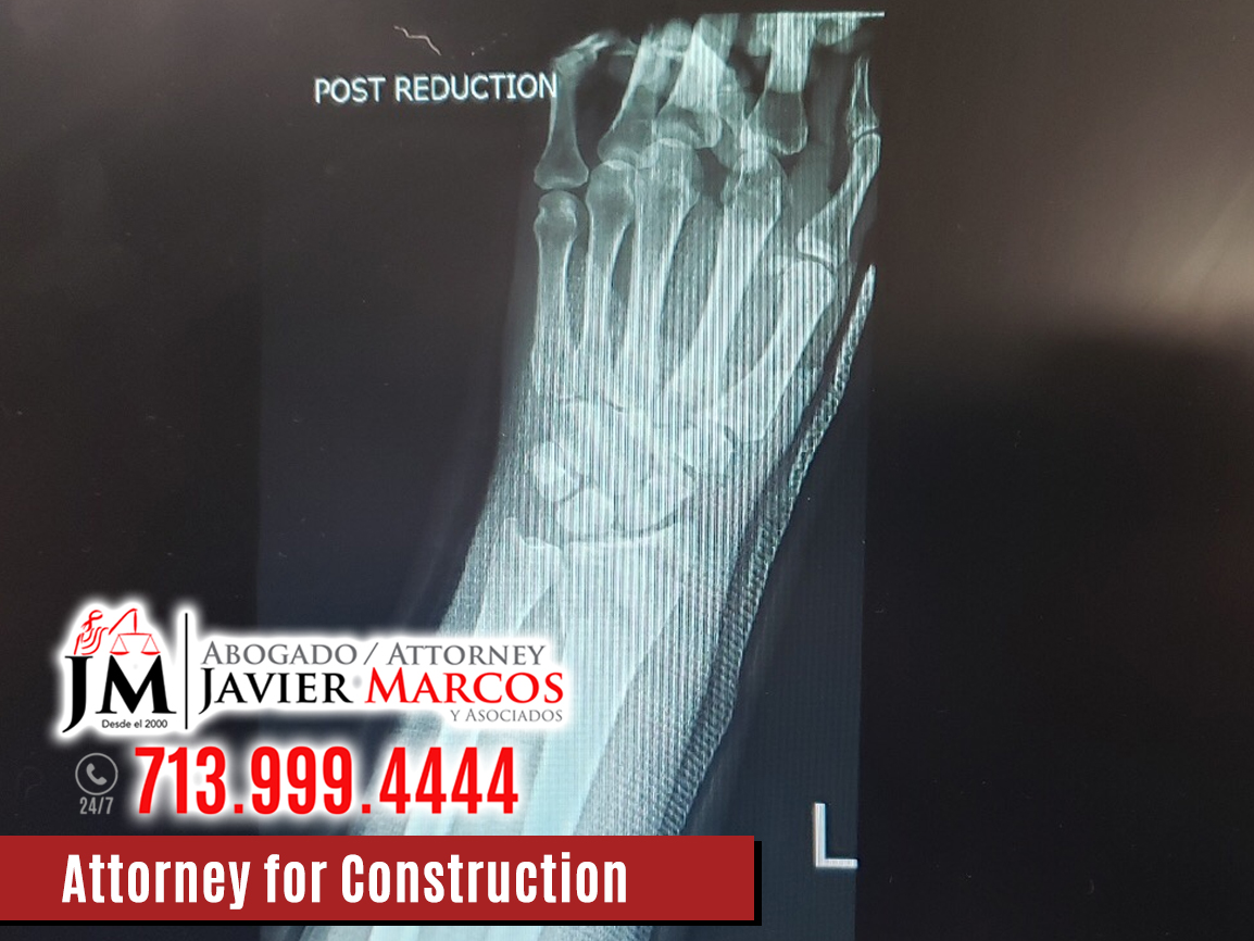 Construction Accidents   Attorney Javier Marcos   713.999.4444