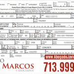 How to get a police report after a car accident in Houston   Attorney Javier Marcos