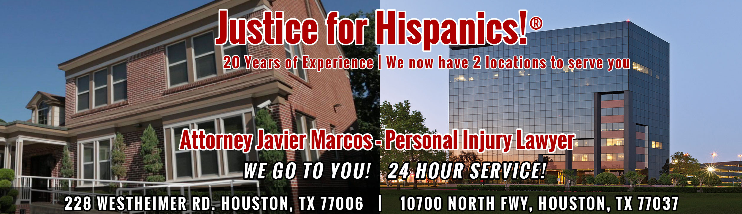 Attorney Javier Marcos - Accident Lawyer - 713-999-4444
