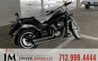 Steps after a motorcycle accident | Attorney Javier Marcos | 713.999.4444